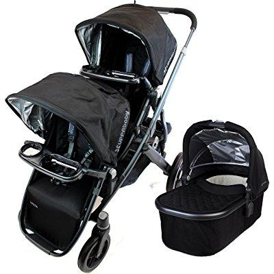 Uppa Baby 2015 vista stroller with rumble seat and snack ...