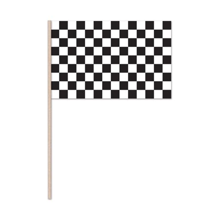 Checkered Flag - Plastic (Pack of 144)