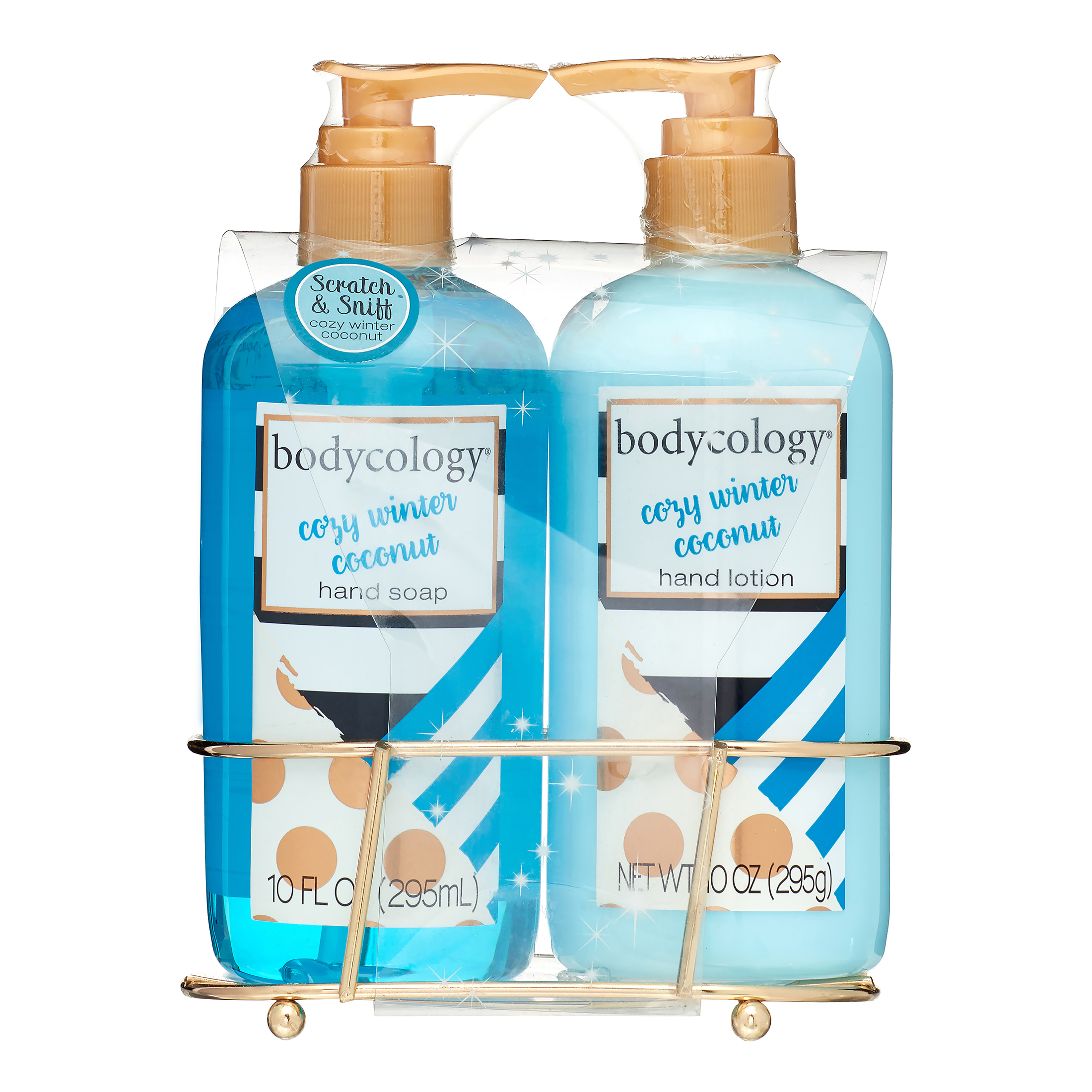 Bodycology Cozy Winter Coconut Hand Soap & Hand Lotion Gift Set