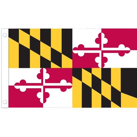 U.S. Flag Store Maryland State Stick Flag - 4