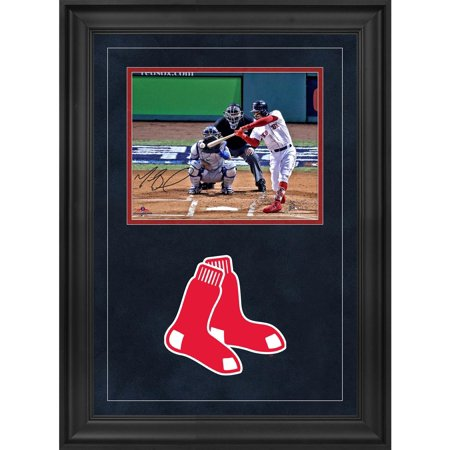 Mookie Betts Boston Red Sox 2018 MLB World Series Champions Deluxe Framed Autographed 8