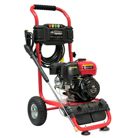 All Power 3200 PSI, 2.6 GPM Gas Pressure Washer for Outdoor Cleaning, APW5119
