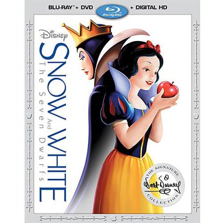 Snow White and the Seven Dwarfs (The Signature Collection) (Blu-ray + DVD + Digital HD) (Cinderella In The Cardboard)