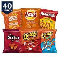 Frito-Lay Cheesy Mix Snacks Variety Pack, 40 Count