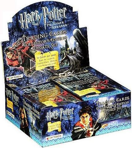 Harry Potter And The Prisoner of Azkaban Trading Cards Sealed Box of 24 Packs