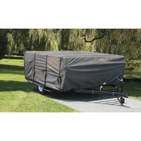Camco UltraGuard 14' Pop-Up Camper Cover, Gray