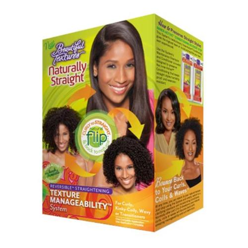Beautiful Textures Naturally Straight Texture Manageability System, 1 ea (Pack of 6)