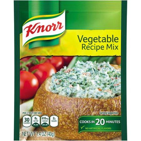 Knorr veggie dip