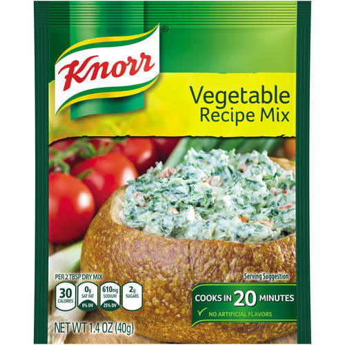 Knorr Recipe Mix Vegetable Dip Mix,  1.4 oz