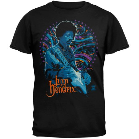 Jimi Hendrix - Power of Soul T-Shirt (Jimi Hendrix Leather)