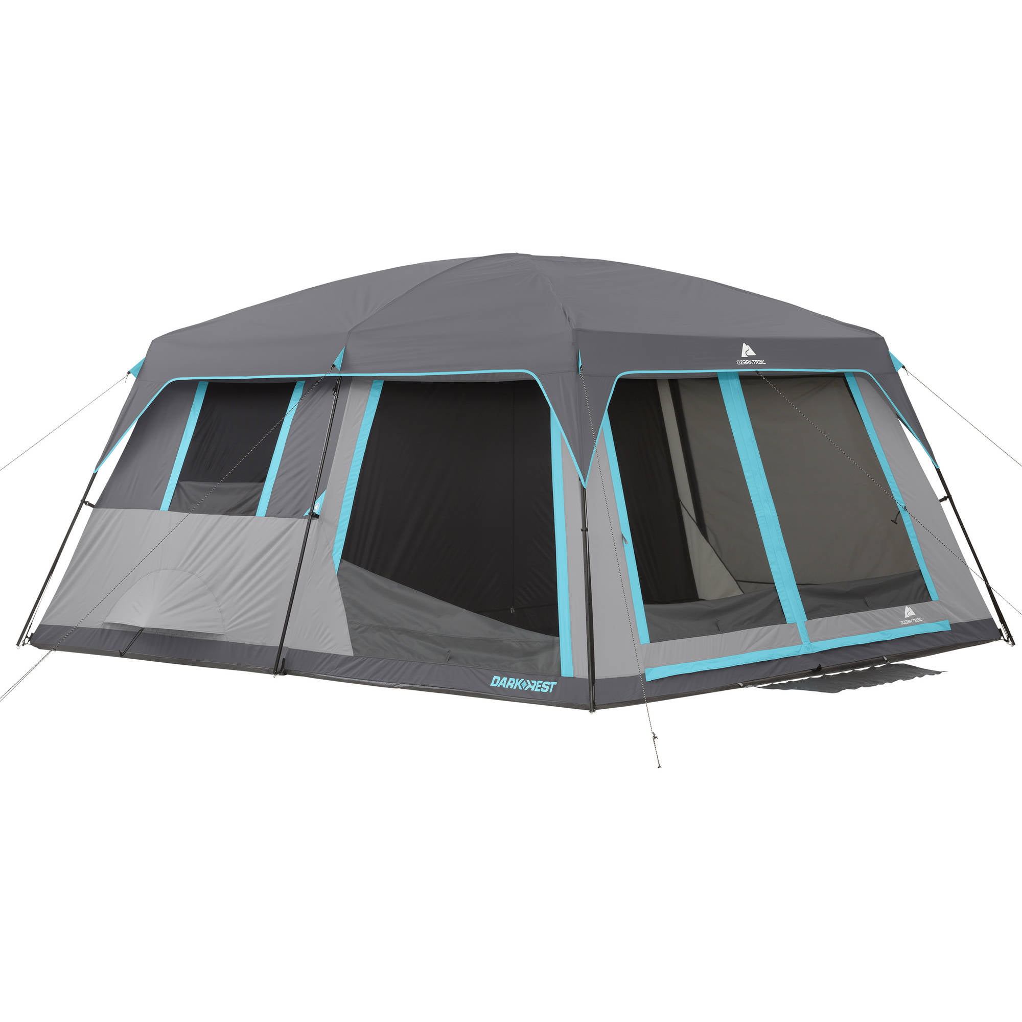 Ozark Trail 14' x 12' Half Dark Rest Frp Cabin Tent, Sleeps 12 by Bohemian Travel Gear Limited