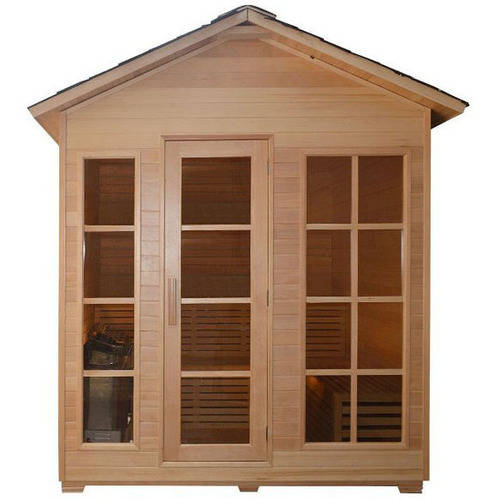 ALEKO STO6IMATRA 4 Person Canadian Hemlock Wood Outdoor and Indoor Wet Dry Sauna with 6 KW... by ALEKO