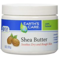 Earth's Care Shea Butter, 100 Percent Pure Natural, 6 Ounce