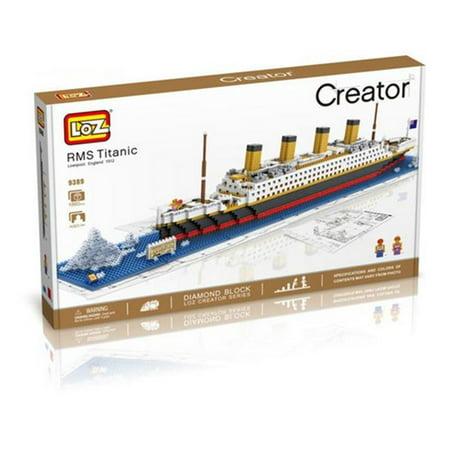 cis 9389 titanic ship building model micro building blocks set. Black Bedroom Furniture Sets. Home Design Ideas