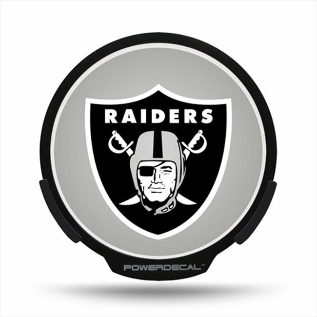 AXIZ GROUP PWR1701 LED Light-Up Decal Oakland Raiders