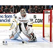 John Gibson Anaheim Ducks Unsigned NHL Debut Photograph
