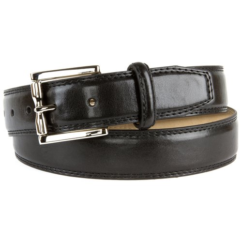 Faded Glory Men's Feather Edge Double Stitch Belt