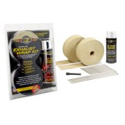 DEI Exhaust Wrap Kit - Tan Wrap and White HT - Retail Packaging