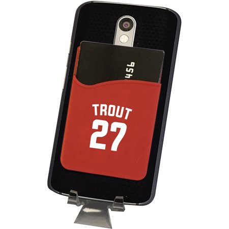 Mike Trout Los Angeles Angels MLB Player Phone Wallet - No Size