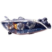 Go-Parts OE Replacement for 2004 - 2009 Mazda 3 Front Headlight Assembly Housing / Lens / Cover - Right (Passenger) Side - (Sedan) BN8P-51-0K0D MA2519108 Replacement For Mazda 3