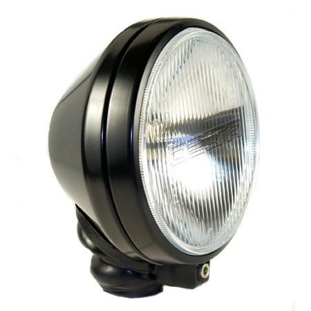 DELTA LIGHTS 500 Series Long Range Light Kit - Black w/ White Covers | 01-6169-50BX
