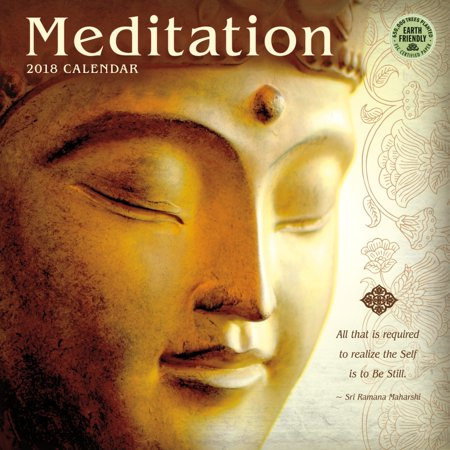 2018 meditation wall calendar asian religion by amber lotus