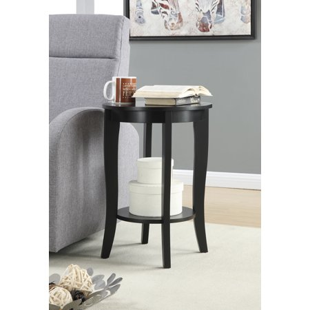 American Heritage Round End Table, Multiple Finishes (American Heritage Hall Table)
