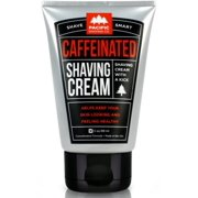 Pacific Shaving Company Caffeinated Shaving Cream, 3 oz (Pack of 6)