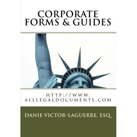 Corporate Forms   Guides  Corporate Legal Forms For Any State  Any Business Purposeday Use