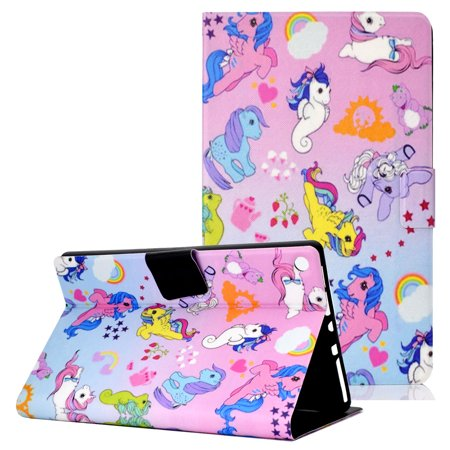 Allytech Kindle Fire HD 8 Case 2018 /2017/2016 8th 7th 6th Generation Case, Slim Stand Smart Cover Auto Sleep Wake Girls Shockproof Cards Holder Wallet Case for Amazon Fire HD 8,