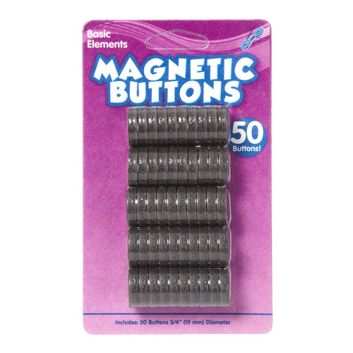 Magnetic Buttons, 52PK by Horizon Group USA