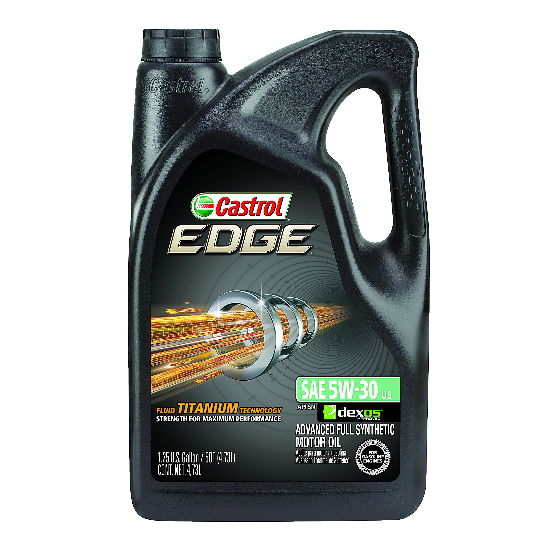 Castrol Edge 5w 30 Full Synthetic Motor Oil 5 Qt