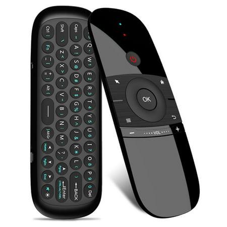 Wechip W1 Tastiera Mouse Senza Fili 2.4g Fly Air Mouse Ricaricabile Mini Telecomando Per Android Tv Box /Mini (Best Android Mini Pc Tv Box)