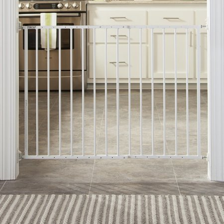 Storkcraft Easy Walk-Thru Metal Safety Gate White](baby gate black friday deals)