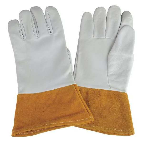 "CONDOR Welding Gloves,TIG,12"",L,PR 31KY87"
