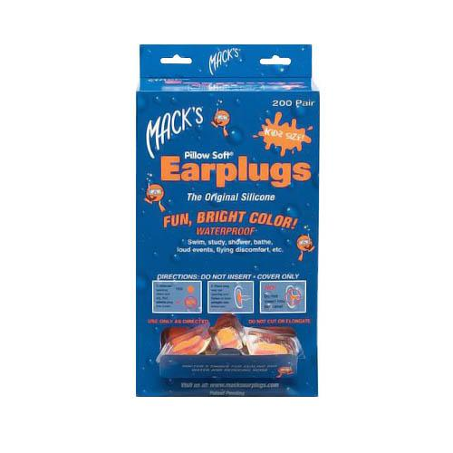 Mack's Swimmers Moldable Ear Plugs for Kids for Swim Fitness and Water Aerobics