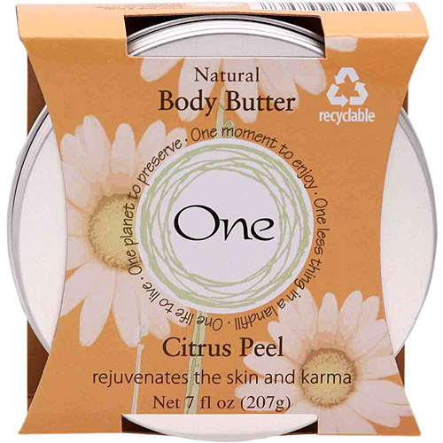 One Body Butter Simply Citrus, 7 oz.