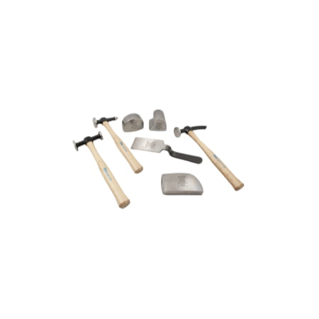 KIT 7 PC BODY & FENDER WOOD HANDLES