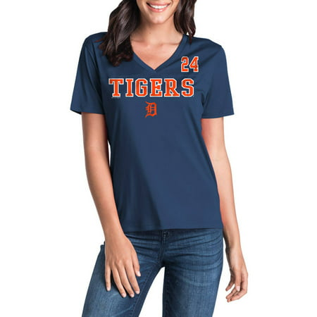 MLB Detroit Tigers Women's Miguel Cabrera Short Sleeve Player Tee ()