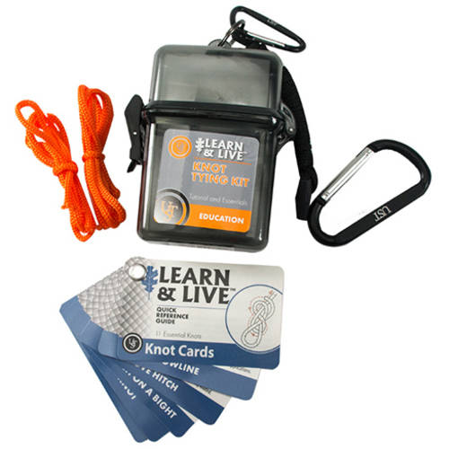 Ultimate Survival Technologies Learn and Live Knot Tying Kit by Ultimate Survival Technologies