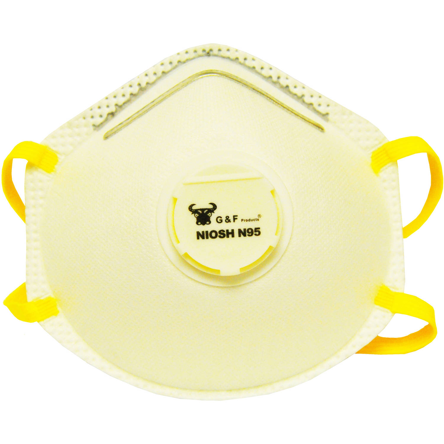 G & F Particulate Respirator Dust Mask Box, 10 Masks by G & F
