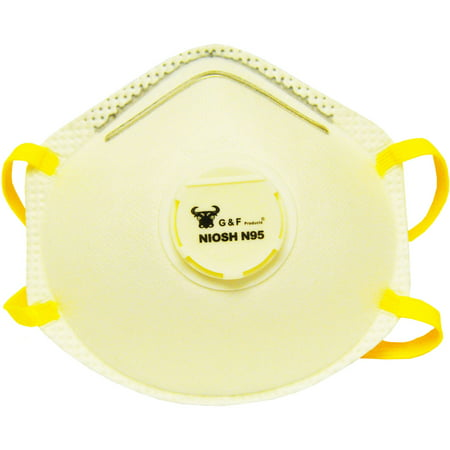 - G & F Particulate Respirator Dust Mask Box, 10 Masks