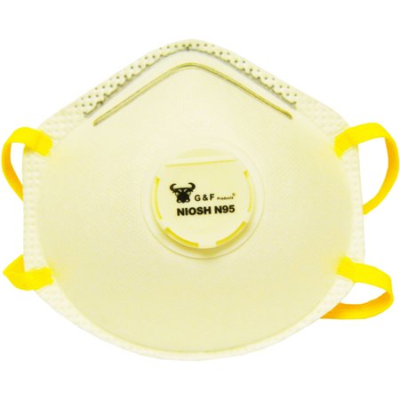 Series Silicone Half Mask Respirator - G & F Particulate Respirator Dust Mask Box, 10 Masks