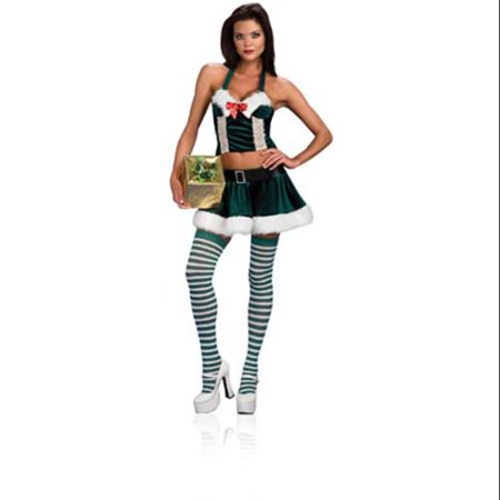 Sexy Santa Holly Helper Christmas Adult Costume Medium