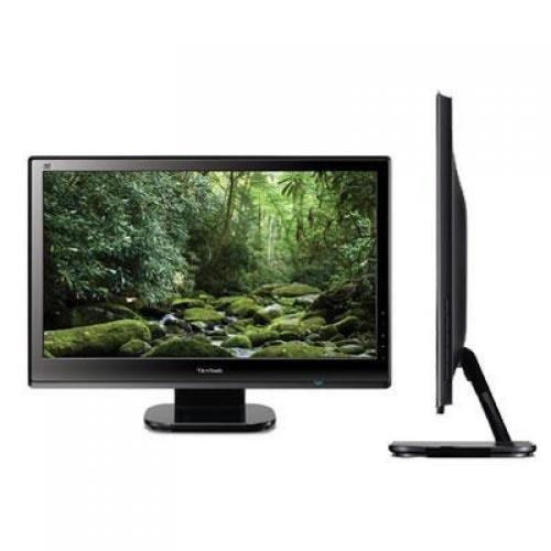 Viewsonic VX2453MH-LED 24-Inch Ultra-thin Widescreen LED Monitor - Black