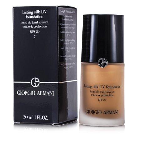 Giorgio Armani - Lasting Silk UV Foundation SPF 20 - # 7 Tan