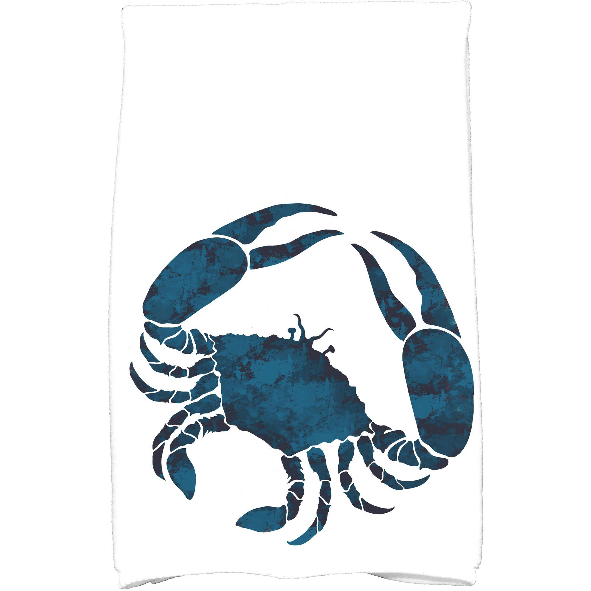 "Simply Daisy 16"" x 25"" Crab Animal Print Kitchen Towel"