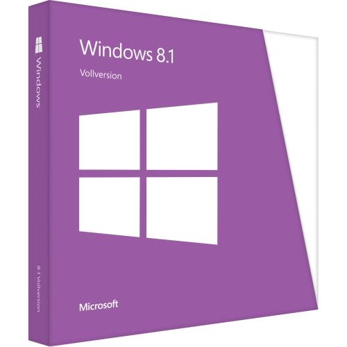 Microsoft Software WN7-00659 Windows 8.1 32Bit 1Pack English DVD Brown Box