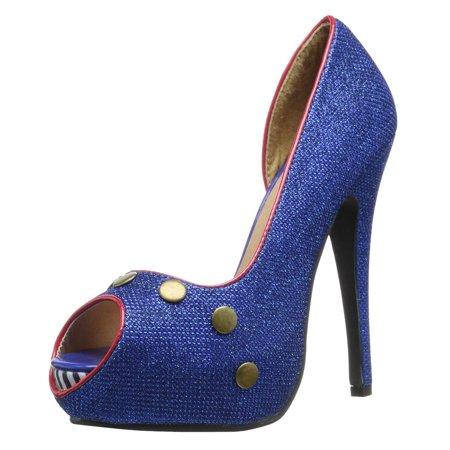 Piping Hot Shoes Womens Peep
