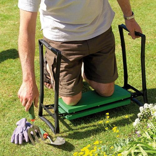 Gardman Foldaway Garden Kneeler Seat